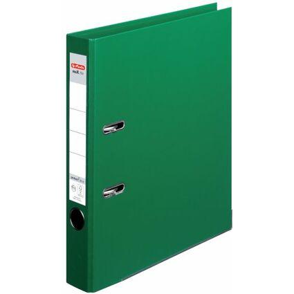 herlitz Ordner maX.file protect plus, Rückenbr.: 50mm, grün
