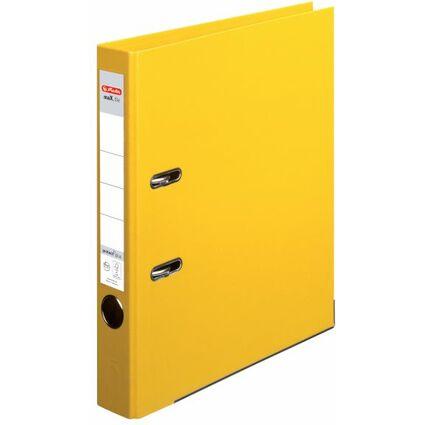 herlitz Ordner maX.file protect plus, Rückenbr.: 50 mm, gelb