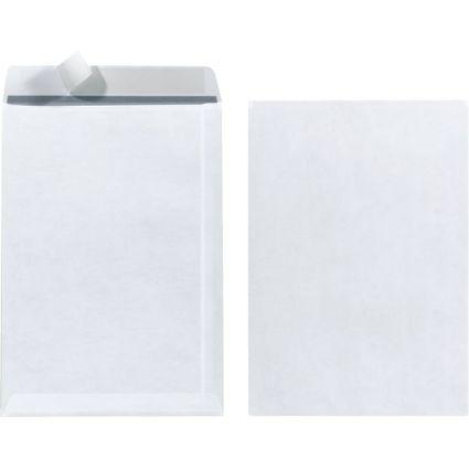 herlitz Versandtasche, DIN C5, ohne Fenster, weiß
