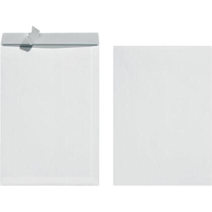 herlitz Versandtasche, DIN B4, ohne Fenster, weiß