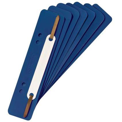 herlitz Heftstreifen, 34 x 150 mm, PP-Folie, blau