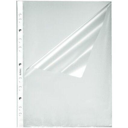 herlitz Prospekthülle, DIN A4, genarbt, 0,055 mm