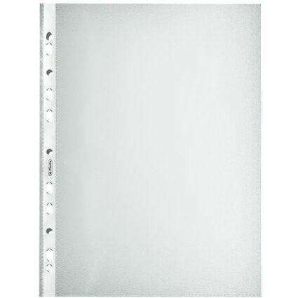 herlitz Prospekthülle, DIN A4, genarbt, 0,085 mm