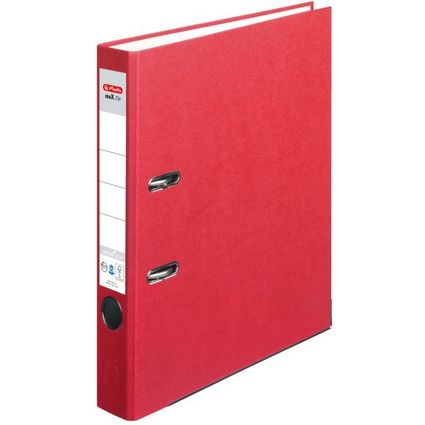 herlitz Ordner maX.file nature plus, Rückenbr.: 50 mm, rot