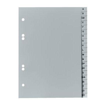 herlitz Kunststoff-Register, A-Z, A5, 20-teilig