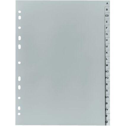 herlitz Kunststoff-Register, A-Z, A4, 20-teilig