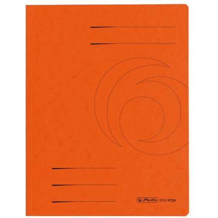 herlitz Sammelmappe easyorga, A4, Colorspan-Karton, orange