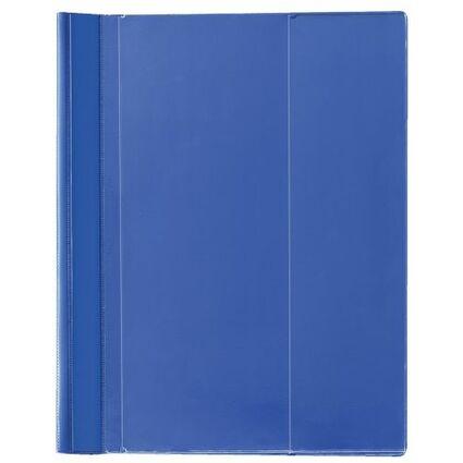 herlitz Schnellhefter Combi, DIN A4 Überbreite, PVC, blau