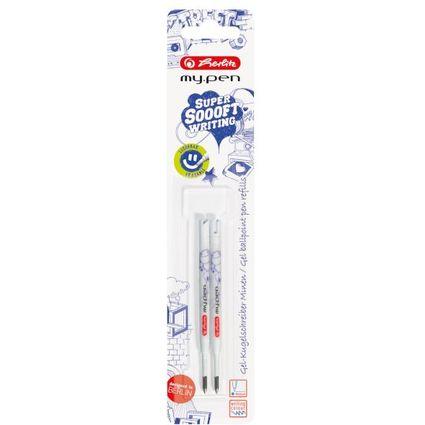 herlitz Gelschreiberminen my.pen, blau