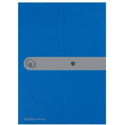 herlitz Dokumententasche easy orga to go, DIN A4, blau opak