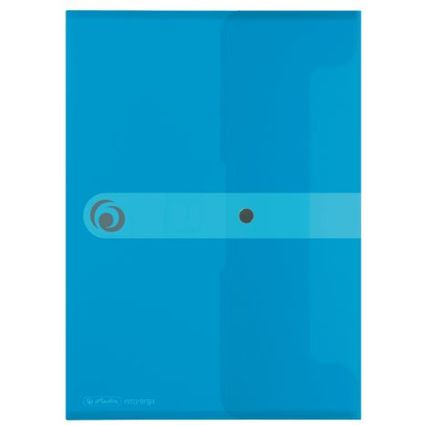 herlitz Dokumententasche easy orga to go, DIN A5, blau