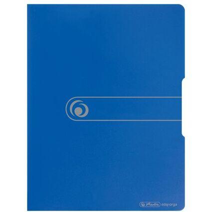 herlitz Sichtbuch easy orga to go, A4, 20 Hüllen, blau opak