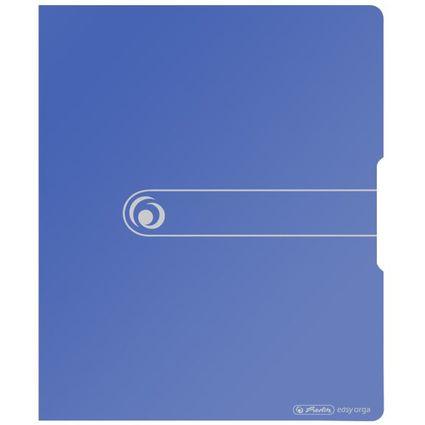 herlitz Ringbuch easy orga to go, A4, 2-Ring, blau opak