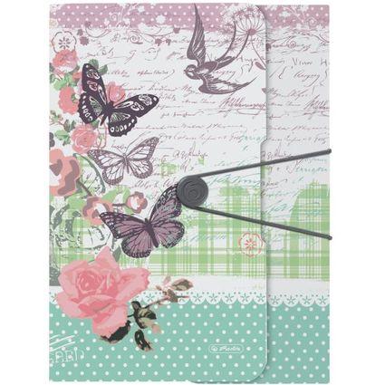 """herlitz Sammelmappe easy orga to go Ladylike """"Butterfly"""", A4"""