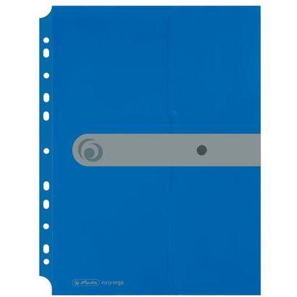 herlitz Dokumententasche easy orga to go, opak blau