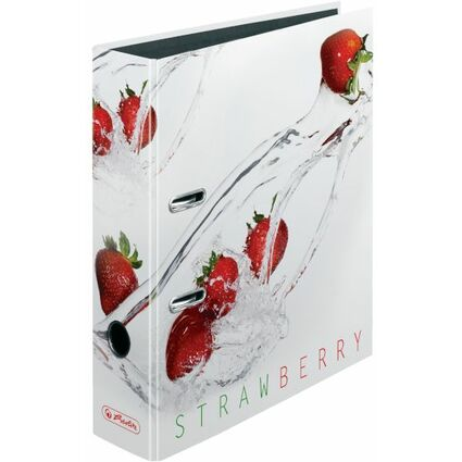 "herlitz Motivordner maX.file Fresh Fruit ""Erdbeere"", DIN A4"