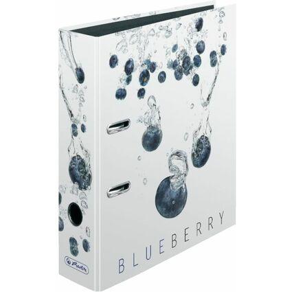 """herlitz Motivordner maX.file Fresh Fruit """"Blaubeere"""", DIN A4"""