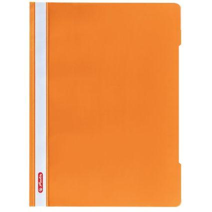 """herlitz Schnellhefter """"Quality"""", DIN A4, PP-Folie, orange"""