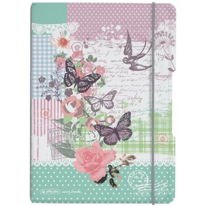 herlitz Notizheft my.book flex Ladylike, A5, PP-Cover
