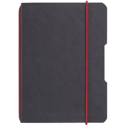 herlitz Notizheft my.book flex, A5, PU-Cover, anthrazit