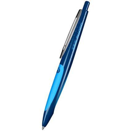 herlitz Gelschreiber my.pen, dunkelblau/hellblau