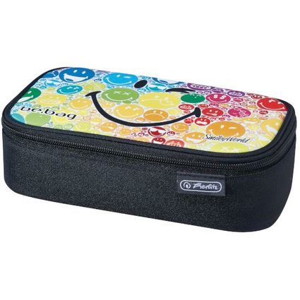 "herlitz Schlamper-Etui be.bag BEATBOX ""SmileyWorld Rainbow"""