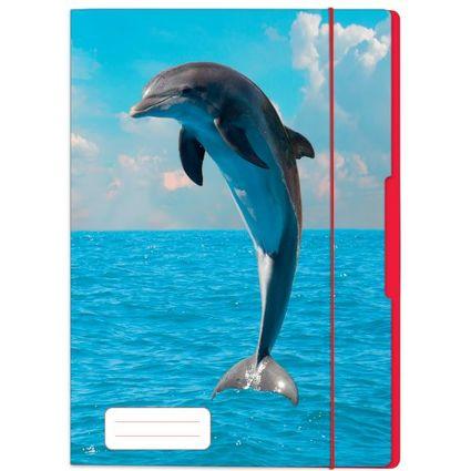 """herlitz Zeichnungsmappe """"Delfin"""", DIN A4"""