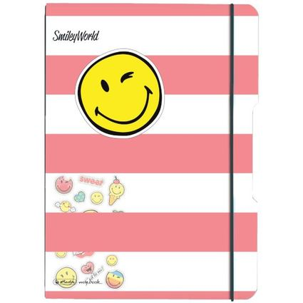 "herlitz Notizheft my.book flex SmileyWorld ""Girly"", A4"