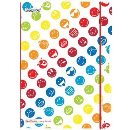 "herlitz Notizheft my.book flex SmileyWorld ""Rainbow"", A5"