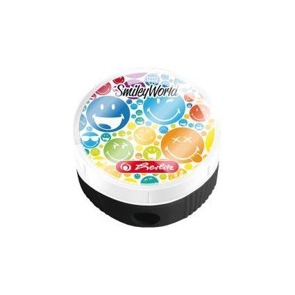 """herlitz Spitzdose SmileyWorld """"Rainbow"""", aus Kunststoff"""