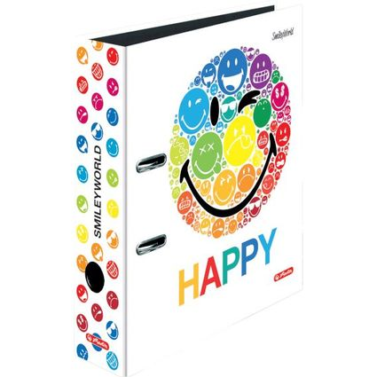 "herlitz Motivordner maX.file SmileyWorld ""Rainbow"", DIN A4"