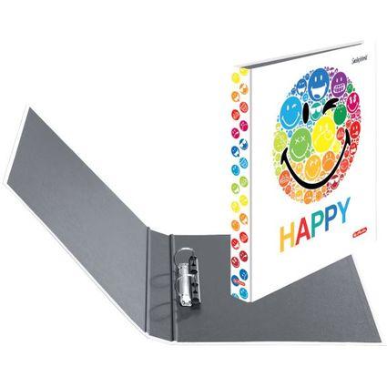 "herlitz Ringbuch maX.file SmileyWorld ""Rainbow"", A4"