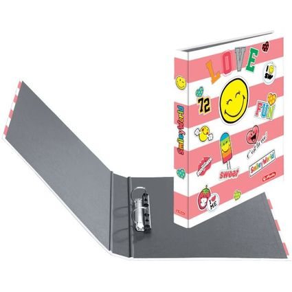 "herlitz Ringbuch maX.file SmileyWorld ""Girly"", A4"