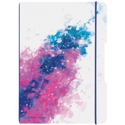 herlitz Notizheft my.book flex Color Splash, A4, pink