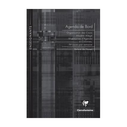 Clairefontaine Agenda de bord non millésimé, A4, 72 pages