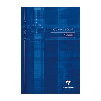 Cahier de bord piqure A4 48 pages 110g