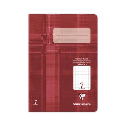 Clairefontaine Schulheft Premium, DIN A5, Lineatur 7