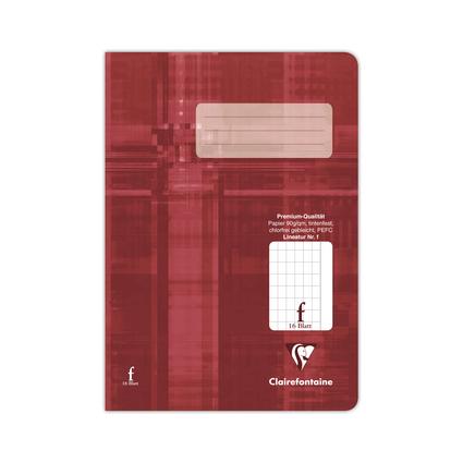 Clairefontaine Schulheft Premium, DIN A5, Lineatur f