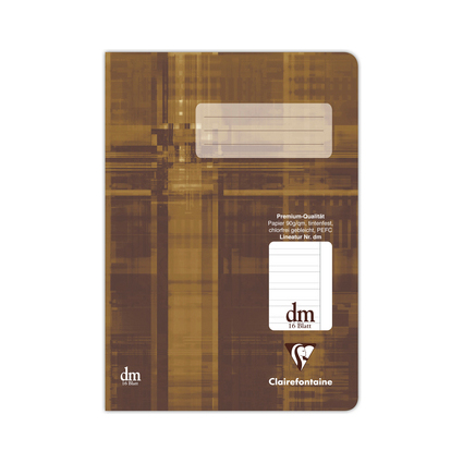 Clairefontaine Schulheft Premium, DIN A5, Lineatur 11 / dm