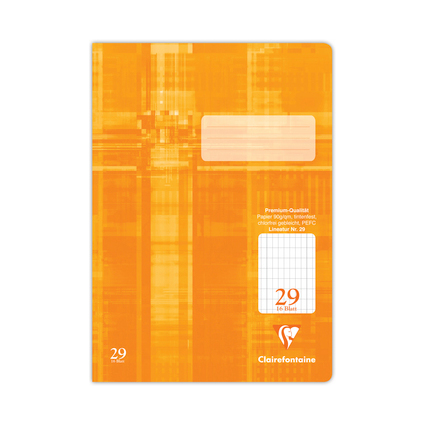 Clairefontaine Schulheft Premium, DIN A4, Lineatur 29