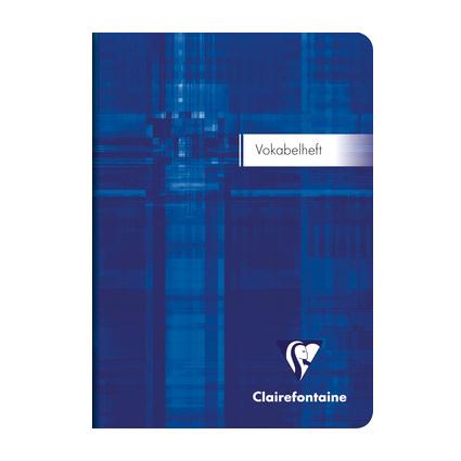 Clairefontaine Vokabelheft, DIN A6, 2-spaltig, liniert