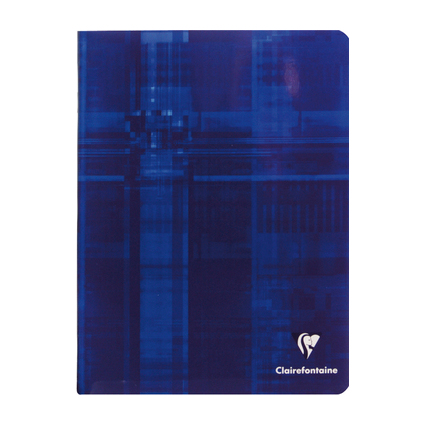 Clairefontaine Cahier piqûre, 170 x 220 mm, 96 pages, 5x5