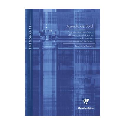Clairefontaine Agenda de bord non millésimé, A4, 144 pages