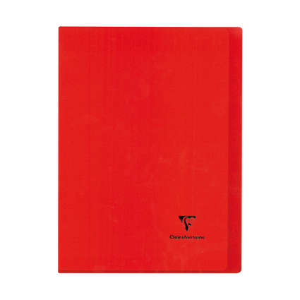 Clairefontaine Cahier Koverbook, 210 x 297 mm, séyès, rouge