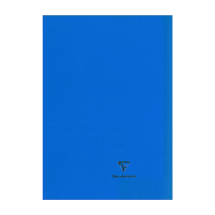 Clairefontaine Cahier Koverbook, 240 x 320 mm, séyès, bleu