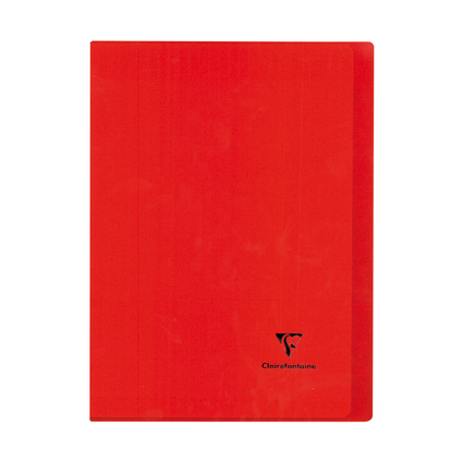 Clairefontaine Cahier Koverbook, 240 x 320 mm, séyès, rouge