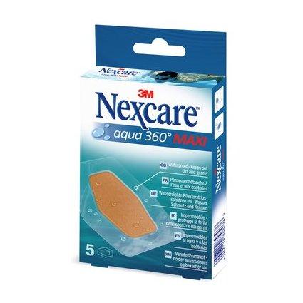 3M Nexcare Pflaster Aqua 360 Grad, 5 Streifen 60 x 89 mm
