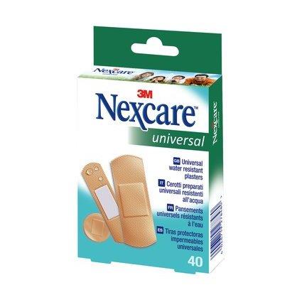 3M Nexcare Pflaster Universal, braun, 40 Streifen sortiert