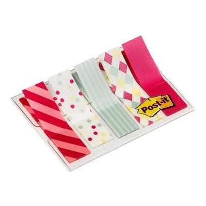 Post-it Haftmarker Index Mini, 11,9 x 43,2 mm, Candy