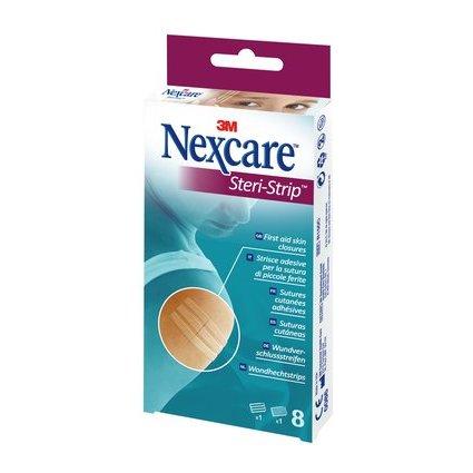 3M Nexcare Wundverschlussstreifen Steri-Strip, 8 Streifen